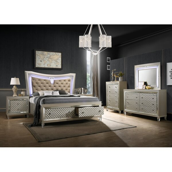 Maximiliano Standard 3 Piece Bedroom Set by Rosdorf Park