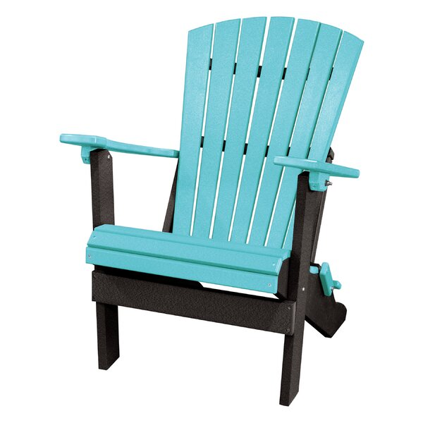 Carla Back Wood Folding Adirondack Chair by Red Barrel Studio