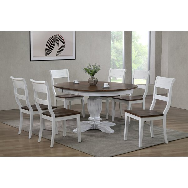 Hepworth 7 Piece Dining Set by Ophelia & Co. Ophelia & Co.
