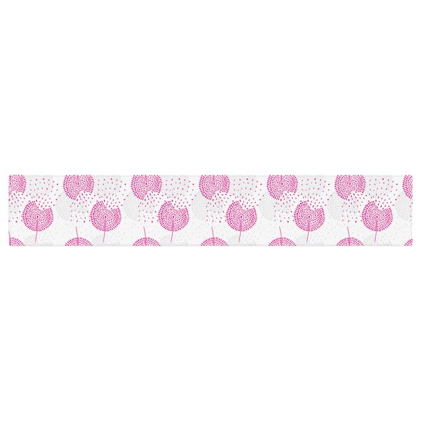 Apple Kaur Designs Wild Table Runner by East Urban Home