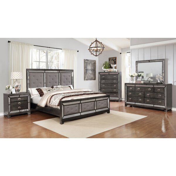 Alois Standard 5 Piece Bedroom Set by Everly Quinn