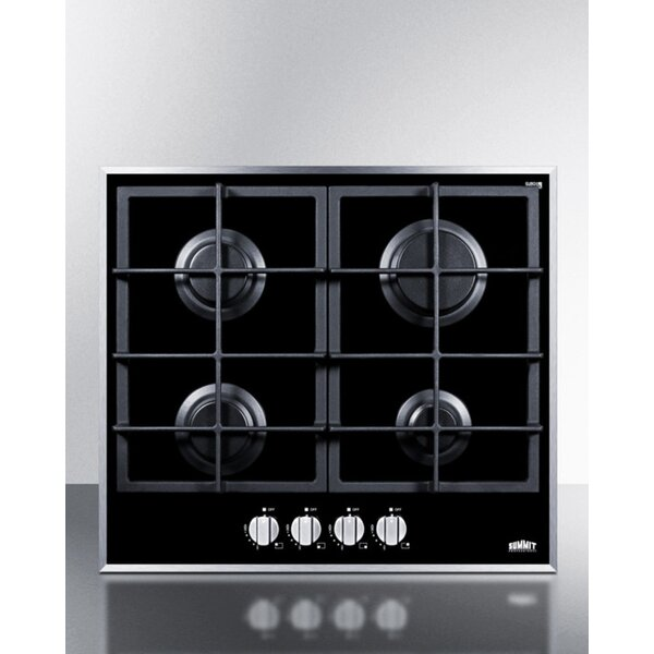 Summit 23 Gas Cooktop with 4 Burners by Summit Appliance