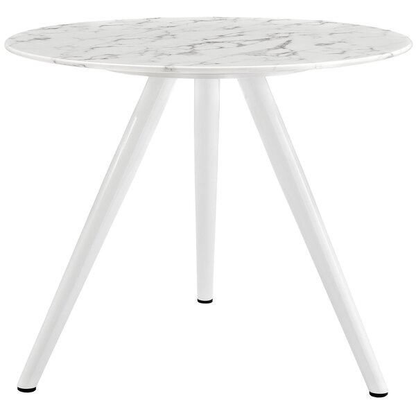 Julien Artificial Marble Dining Table By Langley Street Top Reviews