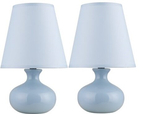 Phung Ceramic 12 Table Lamp (Set of 2) by Ebern Designs