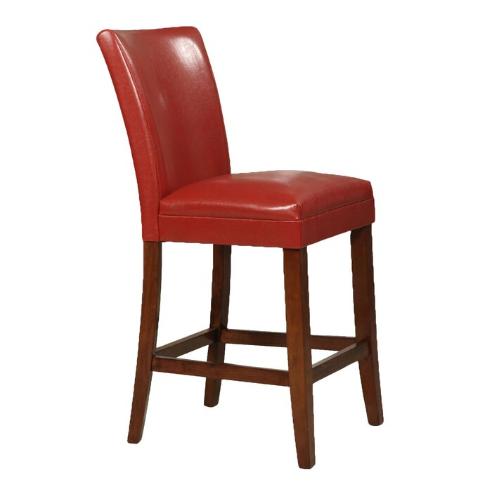 Enjoyable Doerr Traditional 24 Wood Framed Bar Stool Pdpeps Interior Chair Design Pdpepsorg