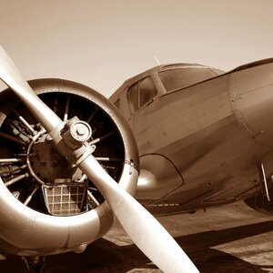 'Aviation III' Photographic Print on Canvas by East Urban Home