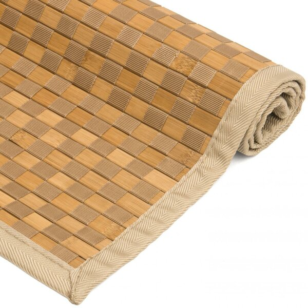 Davita Checkerboard Handmade Natural Area Rug by Highland Dunes