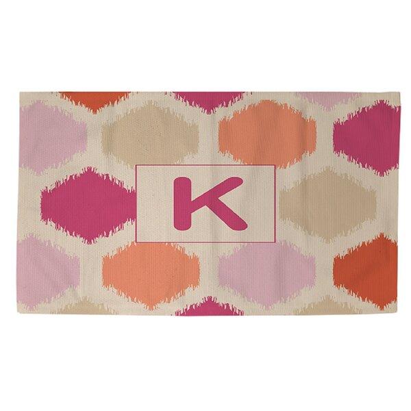 Batu Pink Area Rug by Ebern Designs