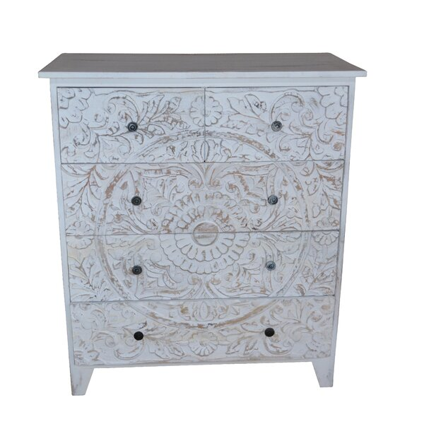 Gebhart 5 Drawer Chest by Bungalow Rose