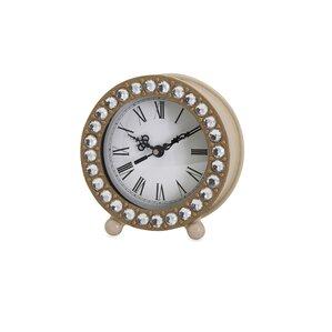 Jeweled Tabletop Clock