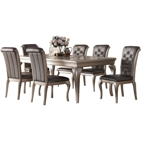 Rohan 7 Piece Dining Set by Willa Arlo Interiors Willa Arlo Interiors