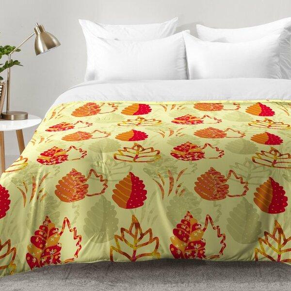 Autumn Splendor Comforter Set by East Urban Home