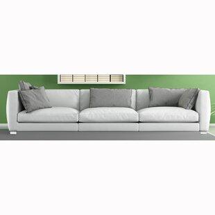 Vannesa Top Grain Leather Sofa