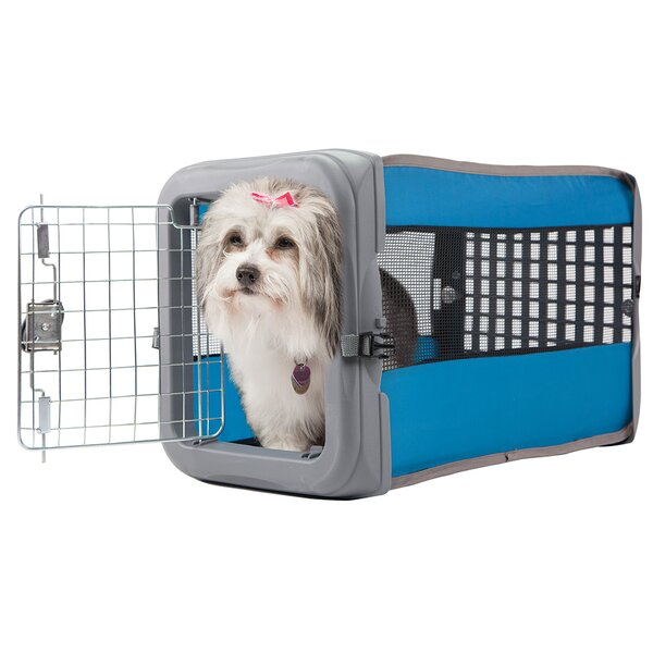 Jeffrey Small Pop Up Travel Crate by Tucker Murphy Pet