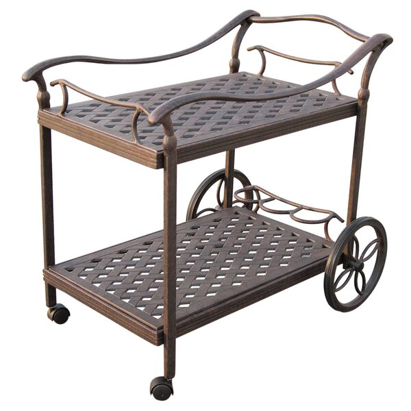 Camargo Bar Serving Cart by Fleur De Lis Living
