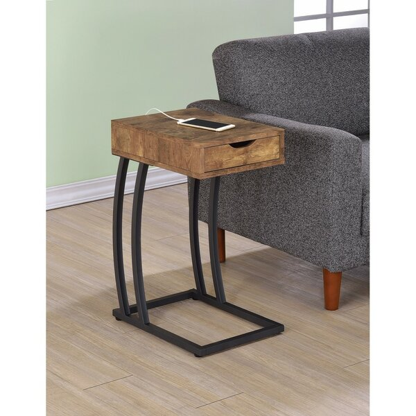 Pogue End Table With Storage By Union Rustic