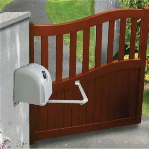 Articulated Gate Opener for Dual Swing Gates Basic Kit by ALEKO