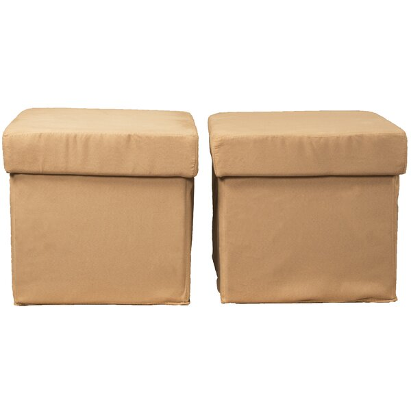 Monadnock Storage Ottoman (Set of 2) by Latitude Run