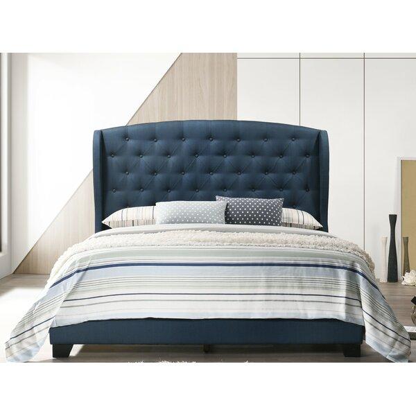 Rhode Upholstered Standard Bed by Alcott Hill