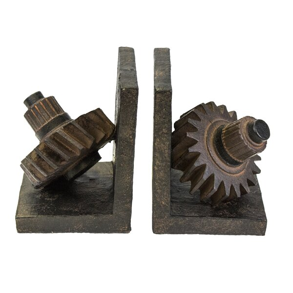 Gear Bookends by Williston Forge