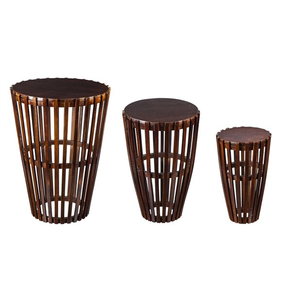 Todds 3 Piece Nesting Tables by Bay Isle Home