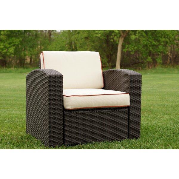 Loggins Patio Chair with Cushion by Brayden Studio