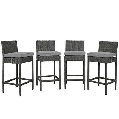 Brayden Studio Patio Bar Stool Cushion Cushion Color Bar Stools