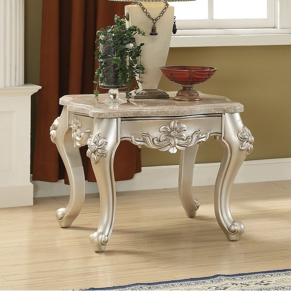 Jacqueline End Table by Astoria Grand