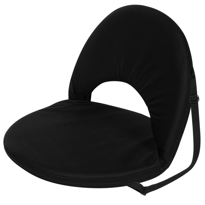 Portable Reclining Stadium Seat with Cushion  sc 1 st  Wayfair & Trademark Innovations Portable Reclining Stadium Seat with Cushion ... islam-shia.org