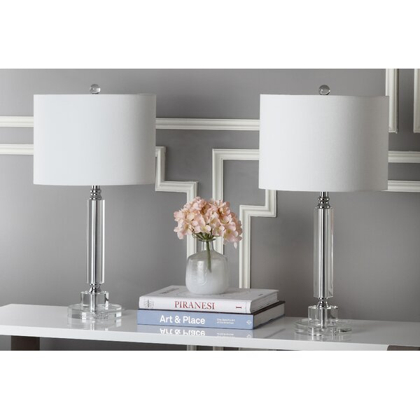Deco Column 24.5 Table Lamp (Set of 2) by Safavieh