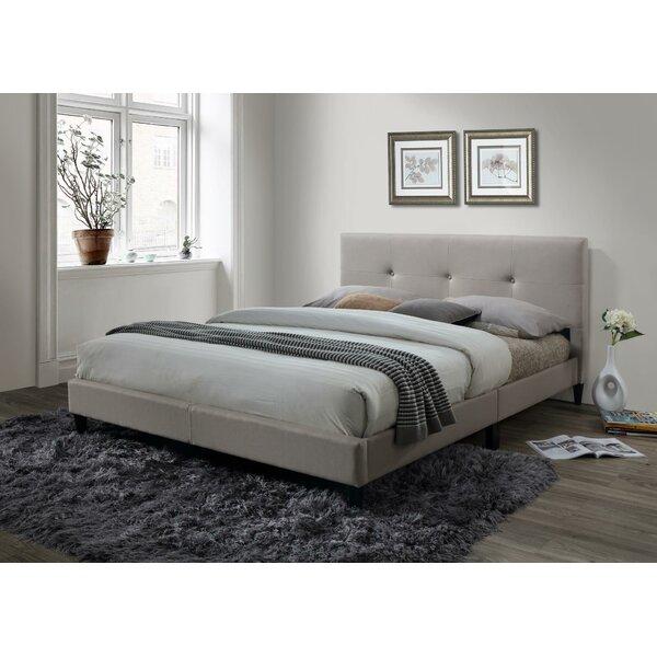 McArthur Upholstered Platform Bed by Ebern Designs
