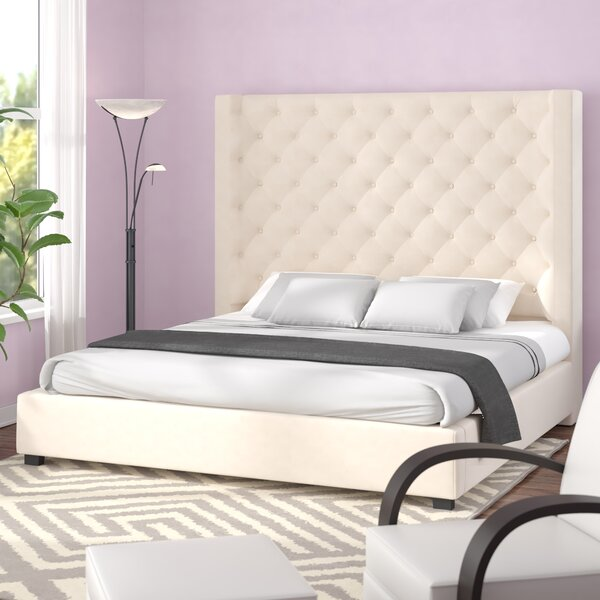 Granville Upholstered Standard Bed by Brayden Studio