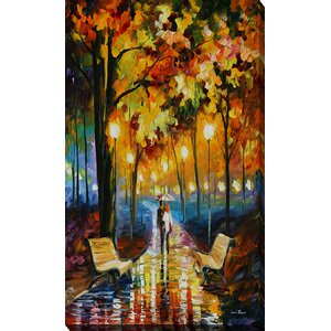 Anticipation of Happines by Leonid Afremov Painting Print on Wrapped Canvas by Picture Perfect International