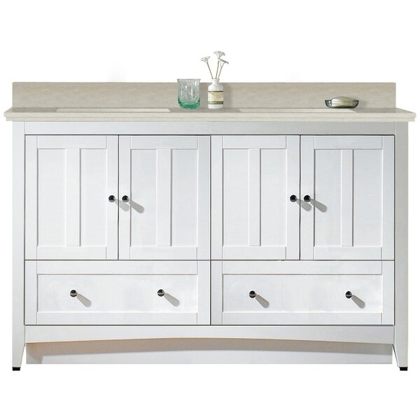 Artic 59 Rectangle Single Bathroom Vanity Set by Longshore Tides