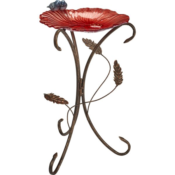 Flower Petal Birdbath by Precious Moments