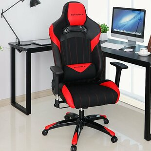 Best Everhart High-Back Racing Sport Ergonomic Gaming Chair By Rebrilliant
