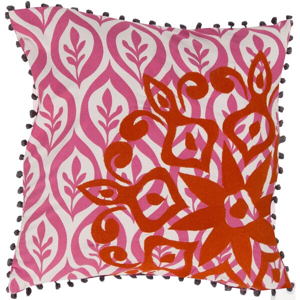 Overlapping Cotton Throw Pillow by Surya