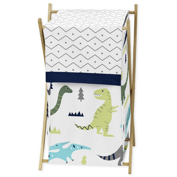 Mod Dinosaur Laundry Hamper by Sweet Jojo Designs