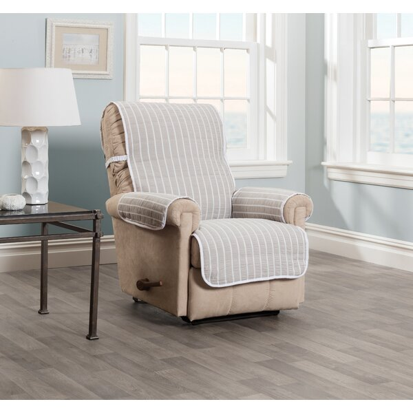 Harper Striped Recliner Slipcover by Innovative Textile Solutions