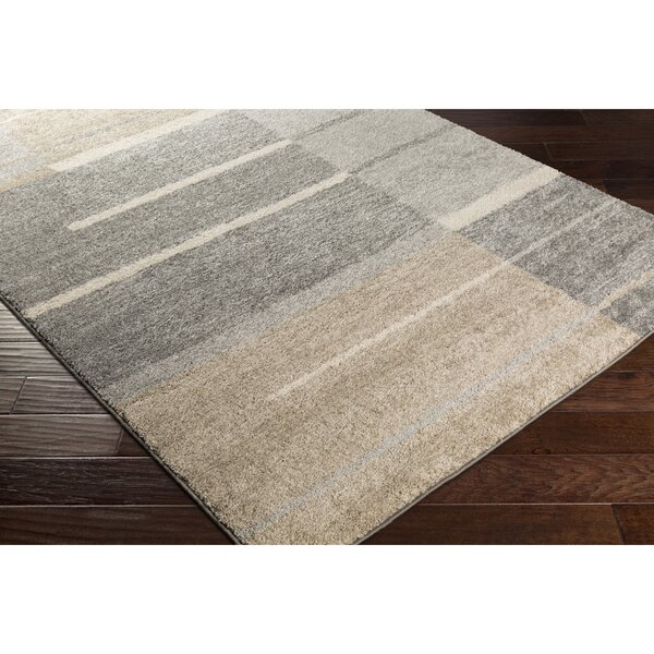 Edmeston Gray/Neutral Area Rug by George Oliver
