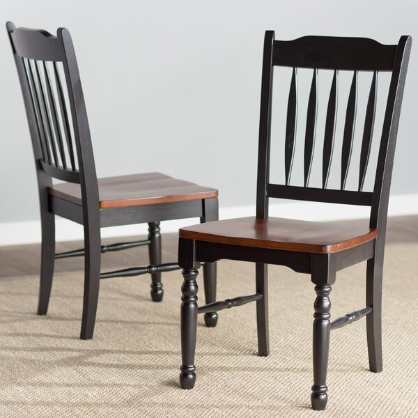 Shelburne Solid Wood Dining Chair (Set of 2) by Laurel Foundry Modern Farmhouse