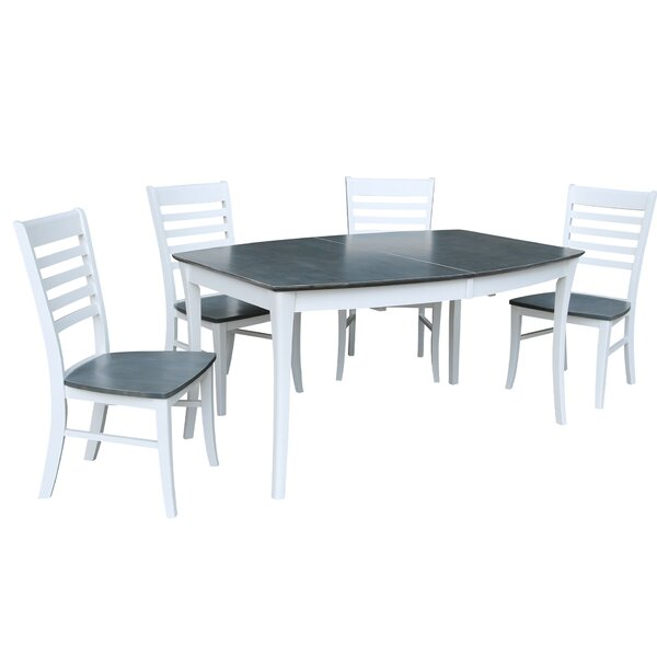 Rectangular 5 Piece Extendable Solid Wood Dining Set by Sedgewick Industries