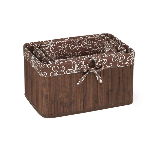3 Piece Claremont Solid Wood Basket Set by Badger Basket