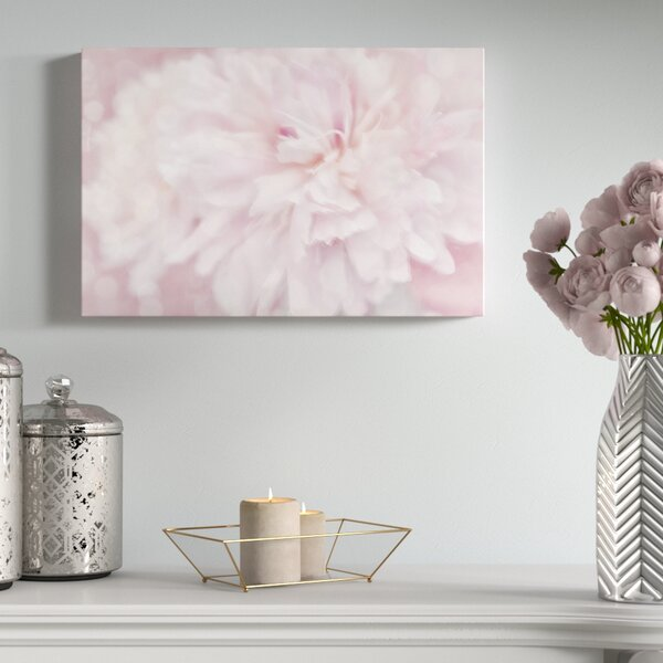 Peony Graphic Art on Wrapped Canvas by House of Hampton