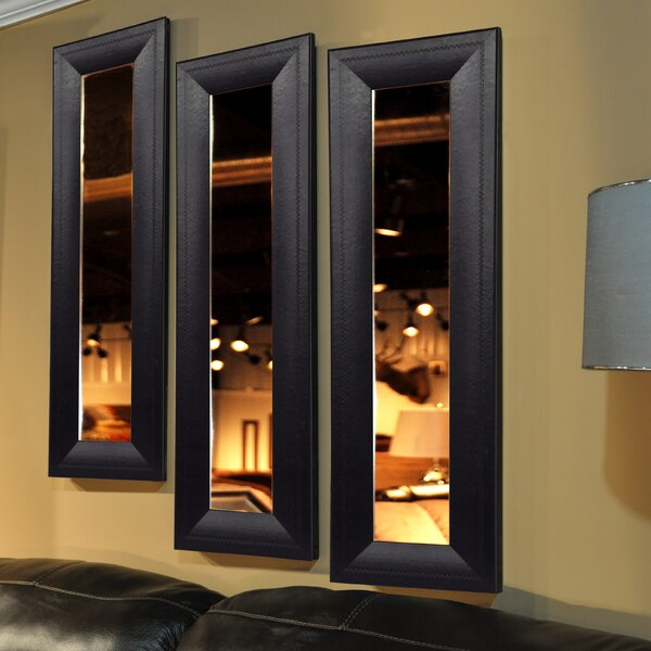 Kincannon Panel Accent Mirror by Charlton Home