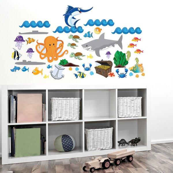 Ocean Boy Wall Decal by Mona Melisa Designs