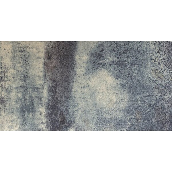 Alchemy 12 x 24 Porcelain Metal Look/Field Tile in Silver Matte by Emser Tile