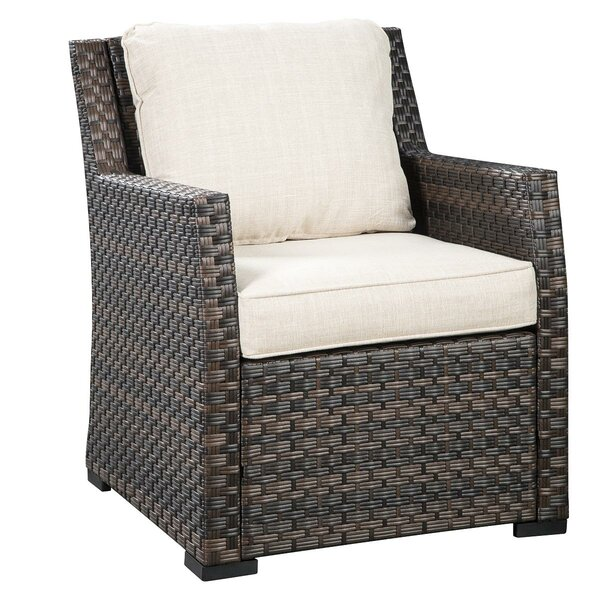 Lovejoy Patio Chair with Cushions by Bay Isle Home