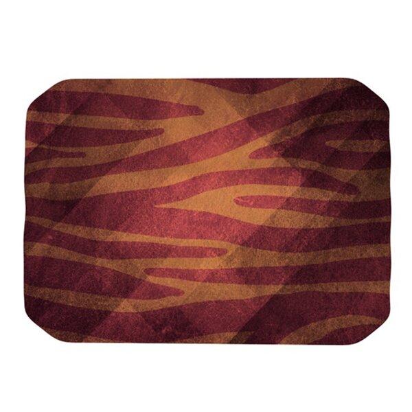 Zebra Texture Placemat by KESS InHouse