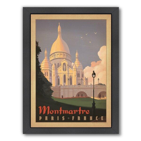Paris Montmartre Framed Vintage Advertisement by East Urban Home